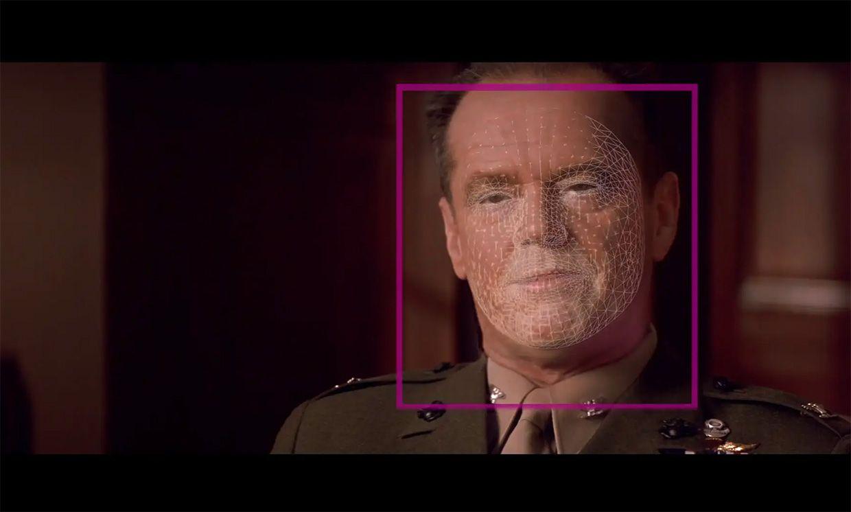 3D face scan of an actor.