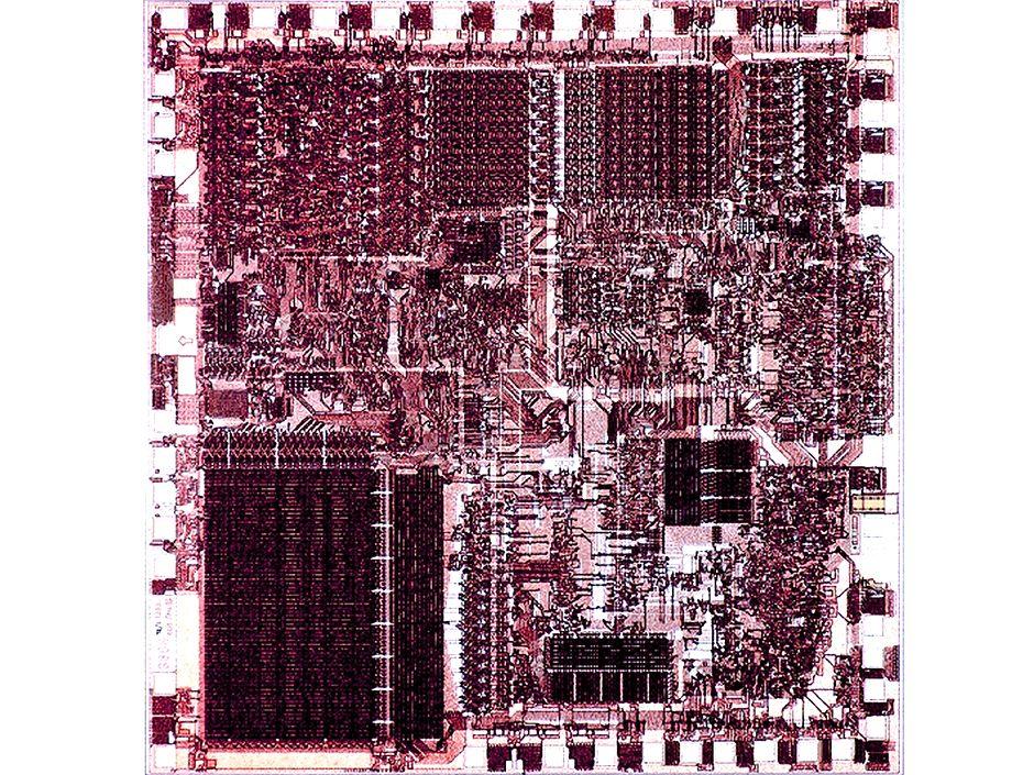 8088 Microprocessor chip