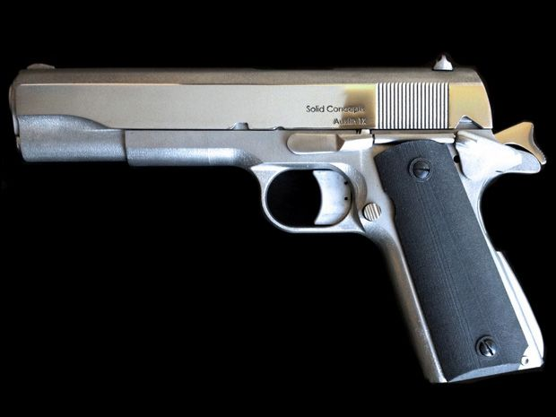 First 3-D-Printed Metal Gun Shows Tech Maturity