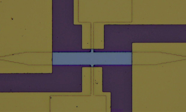 A antiferromagnetic memory cell.