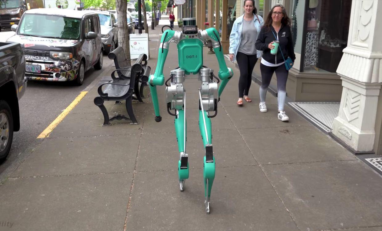 Agility Robotics' humanoid robot Digit