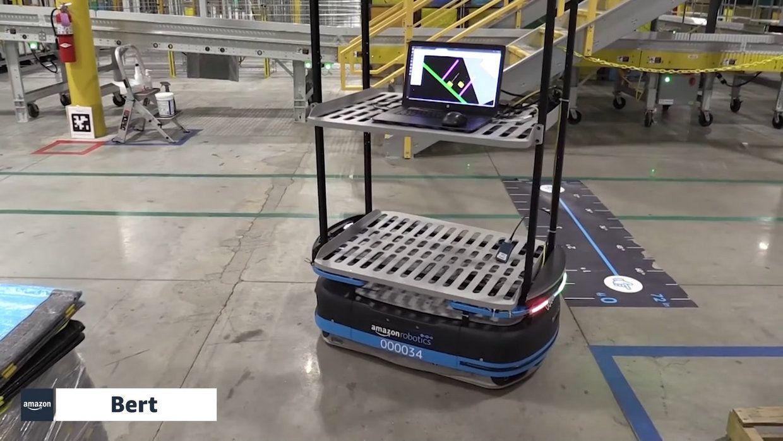 Amazon Robotics' Bert AMR
