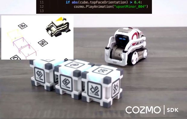 Anki Cozmo Robot SDK