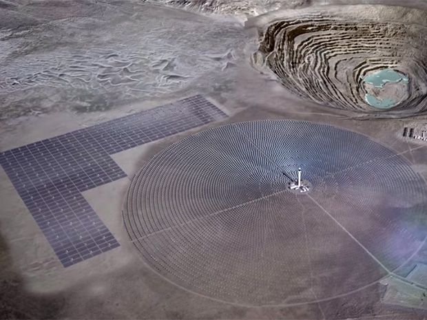 Chile's Hybrid PV-Solar Thermal Power Stations