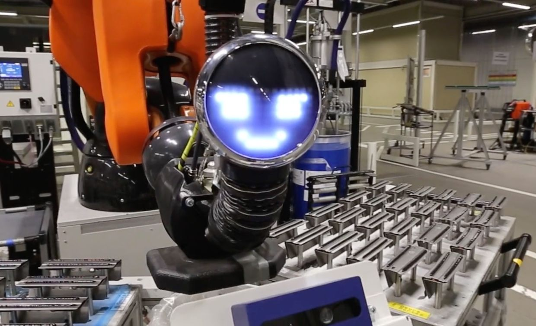 Audi factory collaborative robot