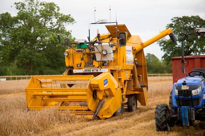Autonomous Robots Plant, Tend, and Harvest Entire Crop of Barley