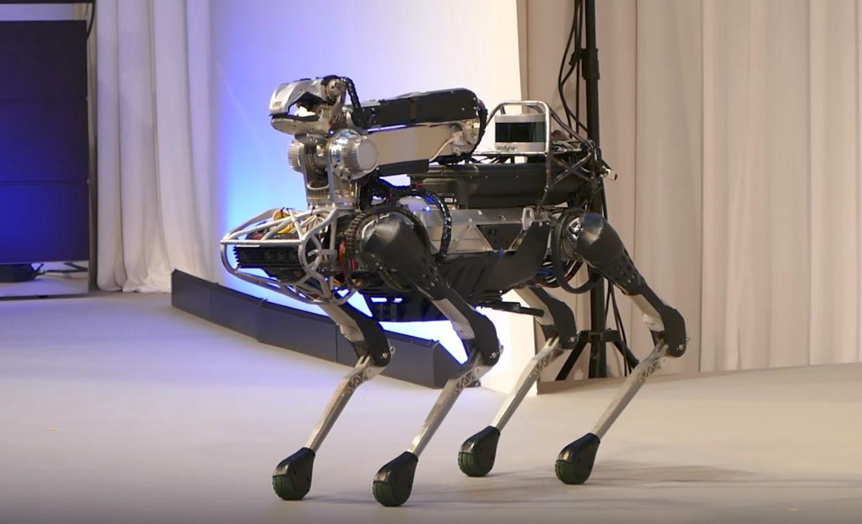 Boston Dynamics' SpotMini robot