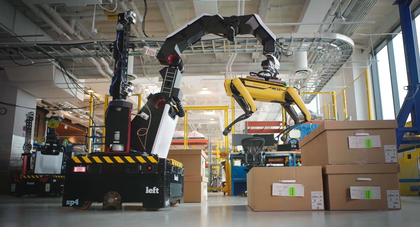 Boston Dynamics' Stretch robot