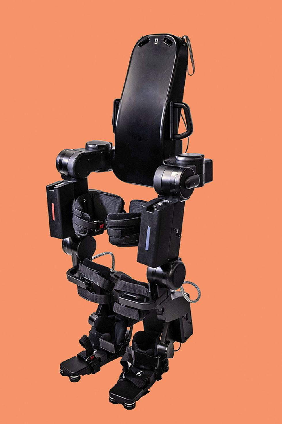 Caltech lower-body exoskeleton