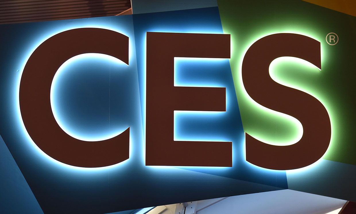 CES logo from 2018