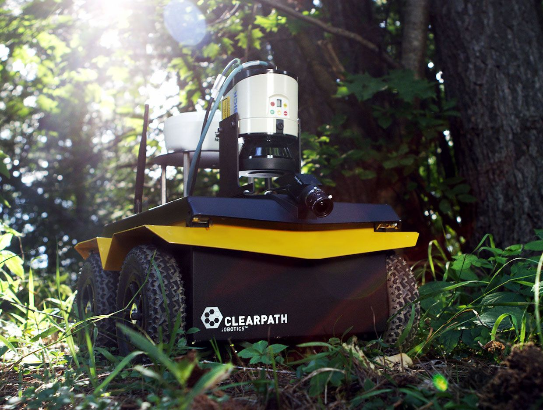 Clearpath Robotics' Jackal ground robot
