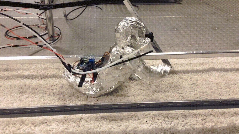 Crawling Robot Baby