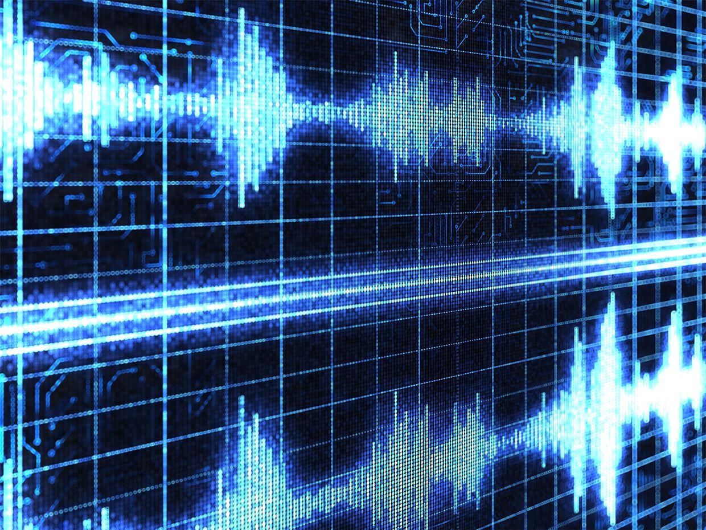 Digital sound waves