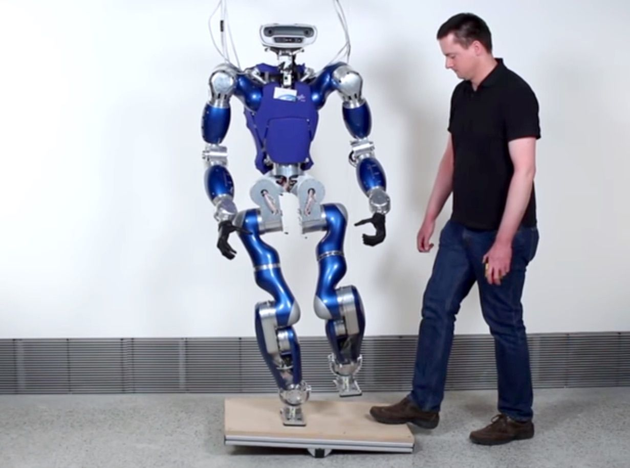 DLR Humanoid Robot Toro