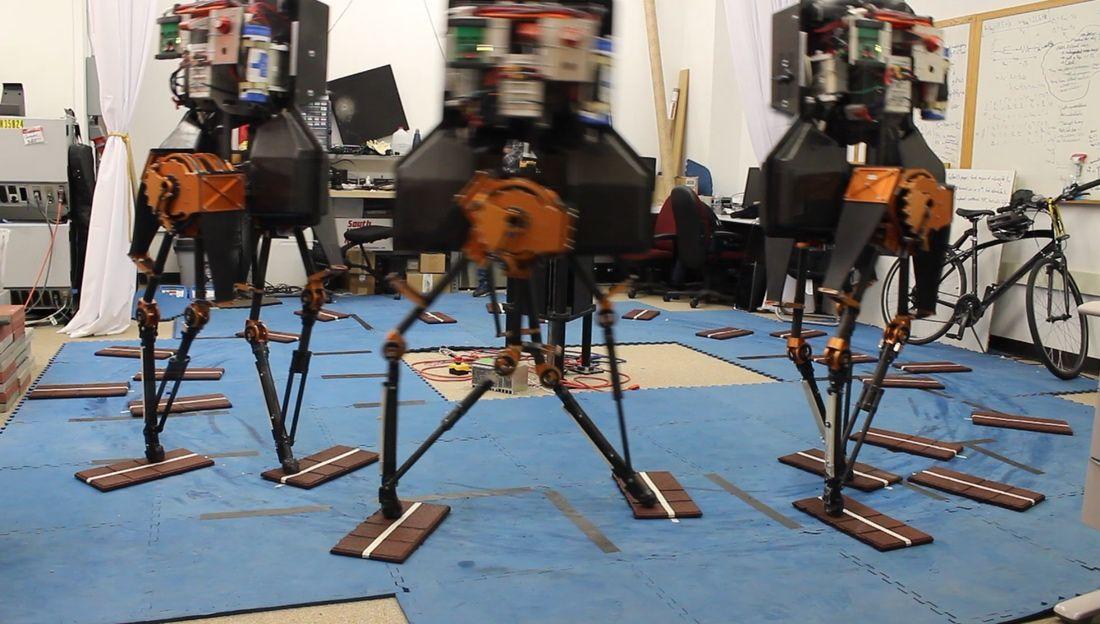 Dynamic walking robot ATRIAS
