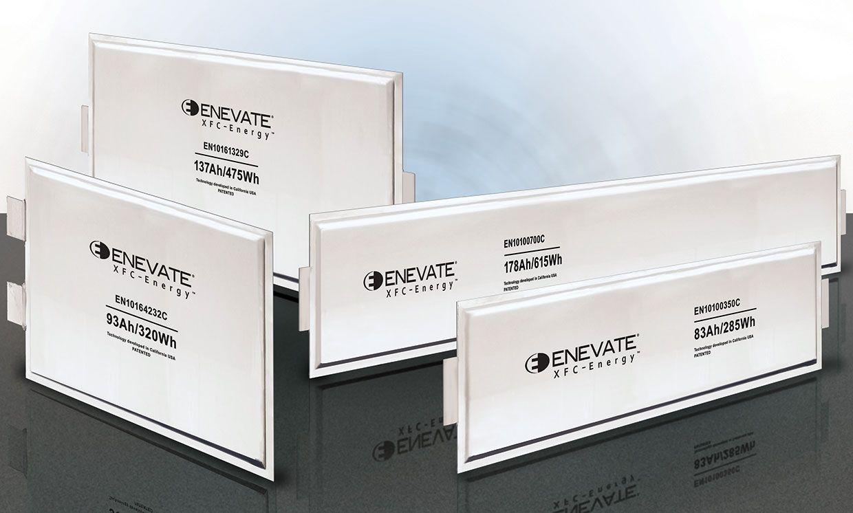 Enevate battery cells