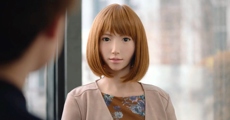 Erica, an android created by Hiroshi Ishiguro