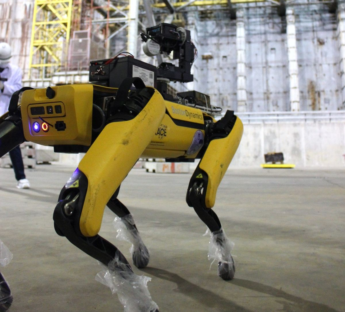 Spot robot at Chernobyl