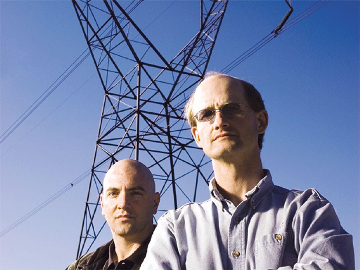 Mike Ingram [right] and David Madura
