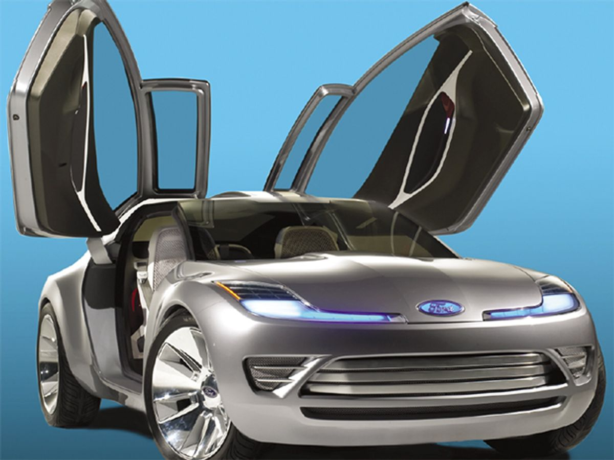 Photo of Ford's Reflex concept car