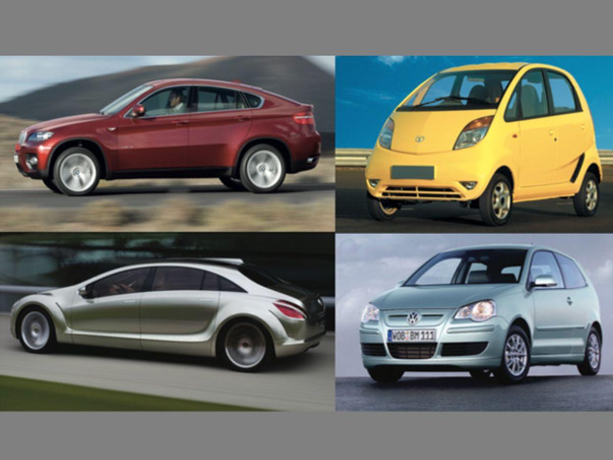 Top 10 Tech Cars of 2008