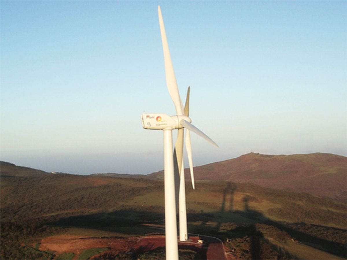 Wind Power in Paradise