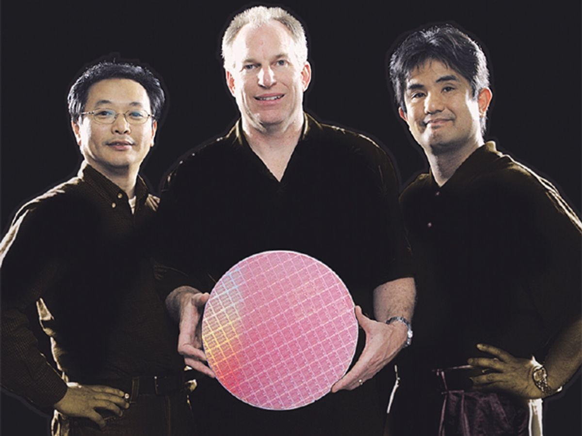 photo of IBM team