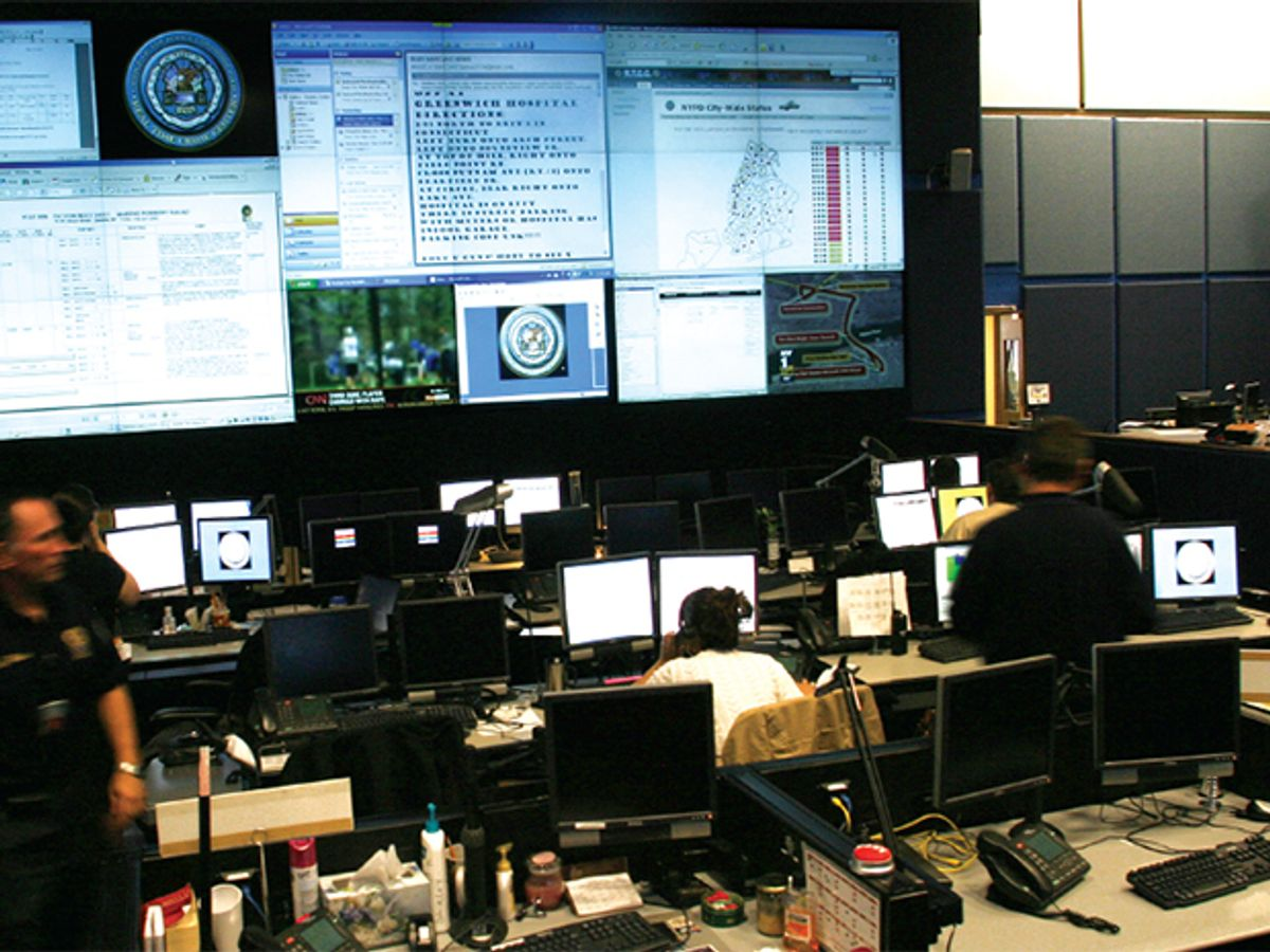 How to Fight Crime in Real Time