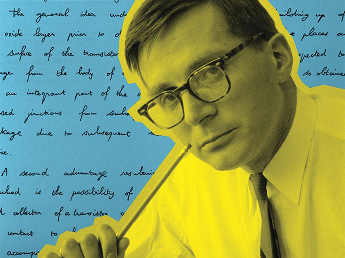 Photo of physicist Jean Hoerni.