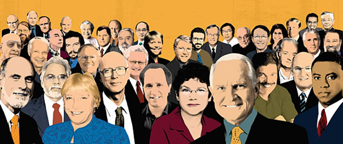 """Illustration of """"Who's Who"""""""
