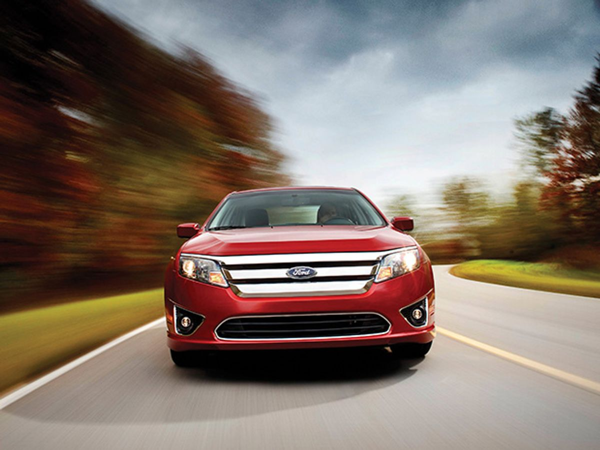 Photo of the Ford Fusion.