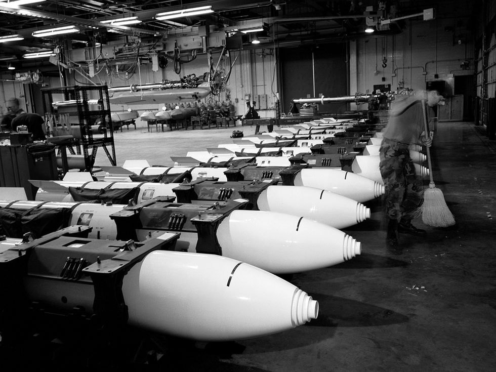 Nuclear gravity bombs at Barksdale Air Force Base, La.