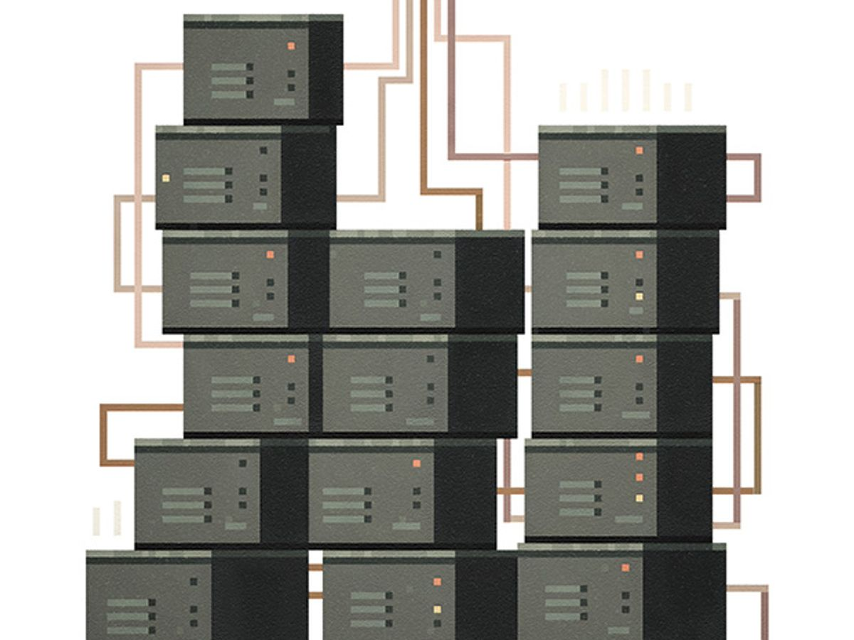 illustration of processors