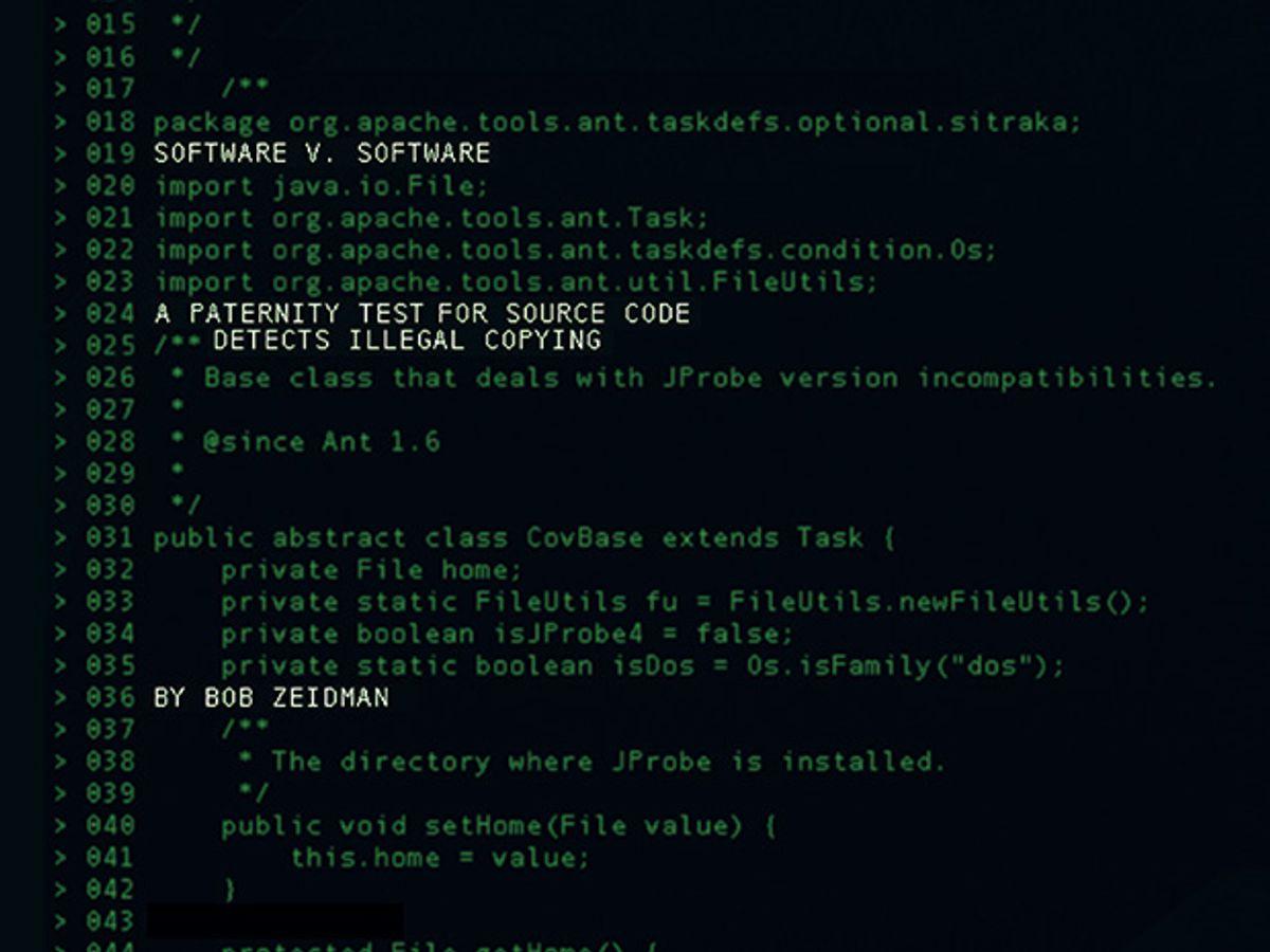 Screenshot of computer code.