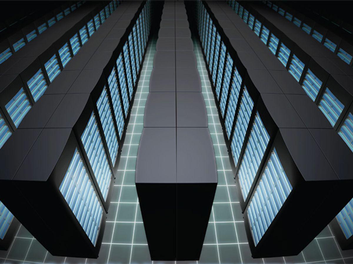 Opening illustration of supercomputers.
