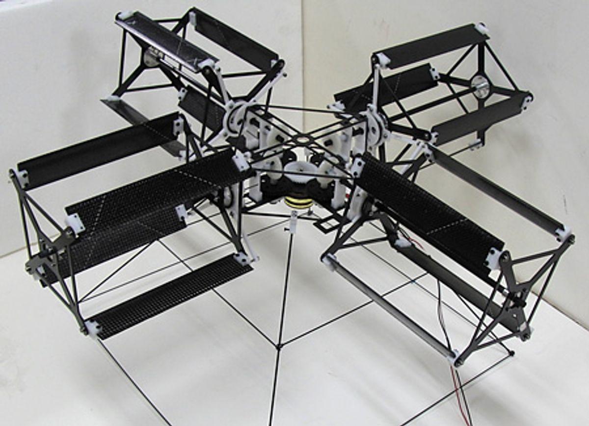Mutant Quadrotor MAV Lifts Off After a Century of Development