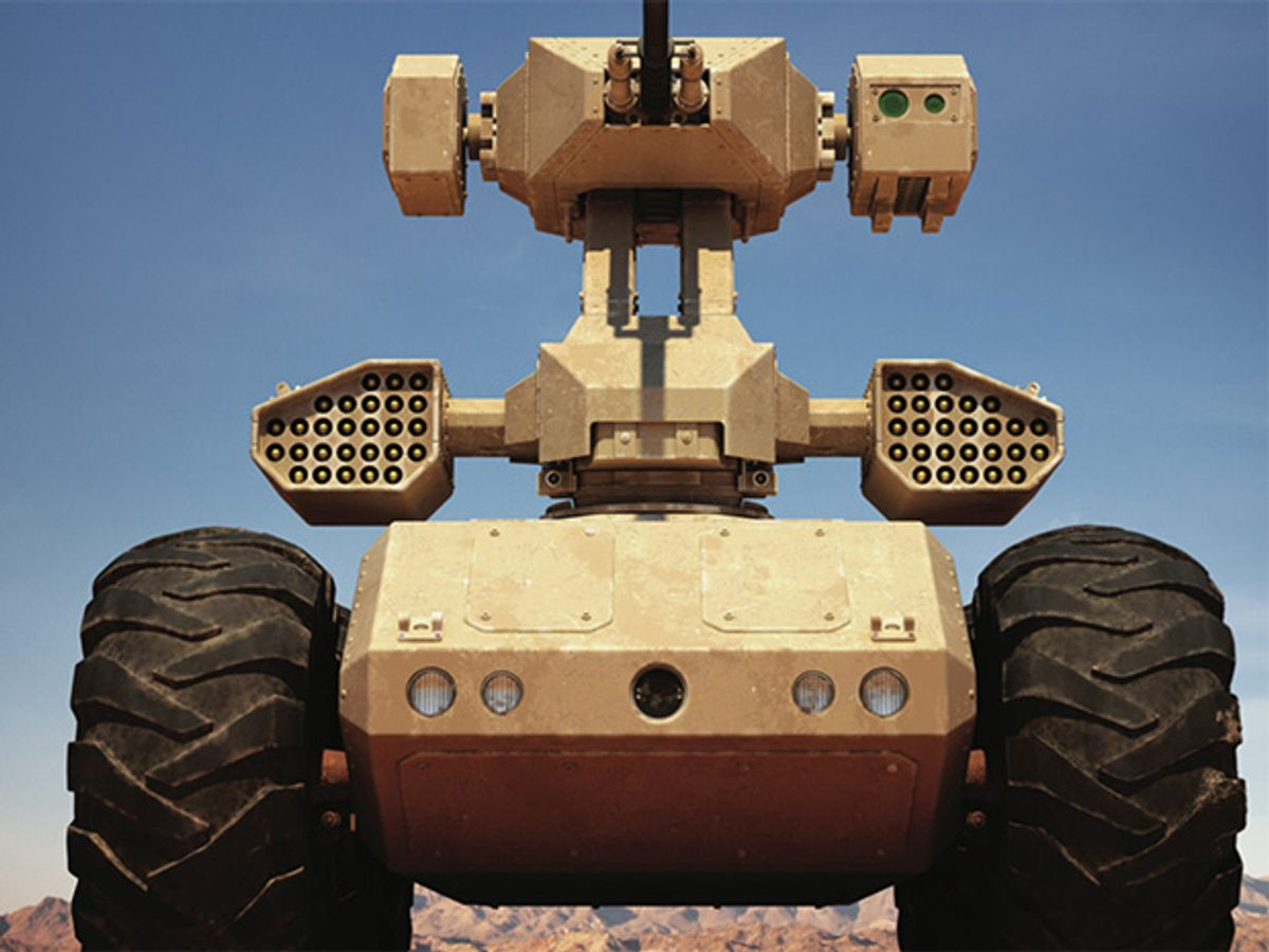 Autonomous Robots in the Fog of War