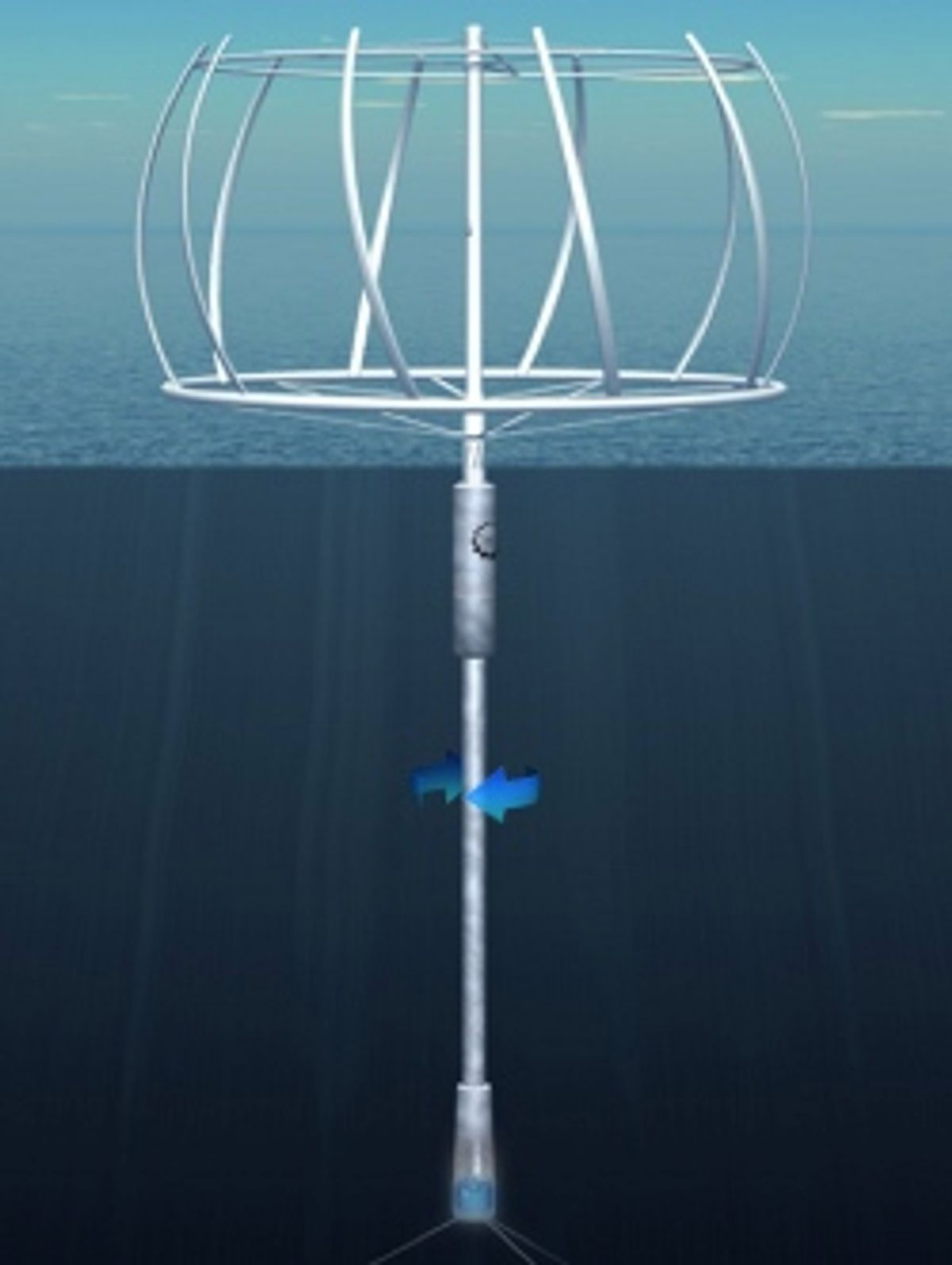 Twirling for Power: New Offshore Turbine Design Can Store Energy