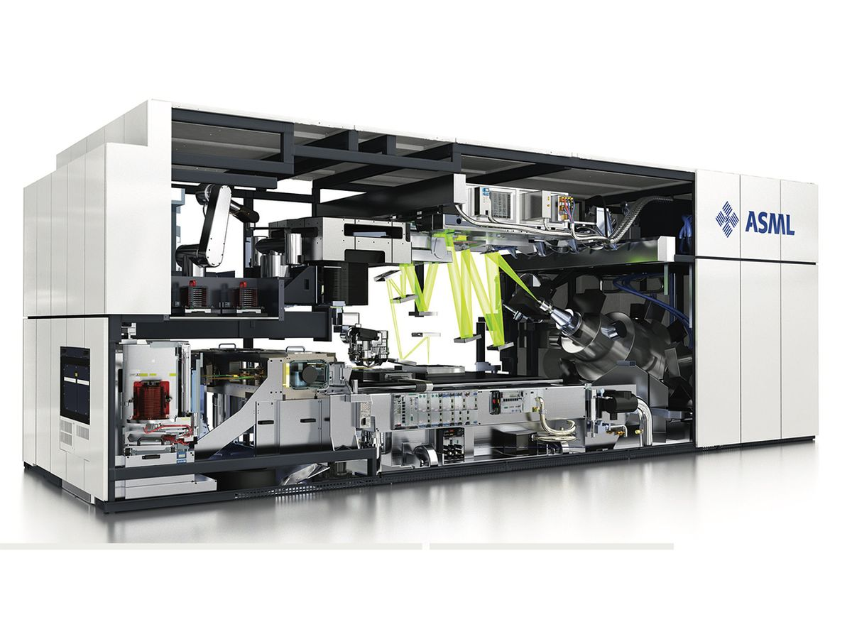 ASML's second-generation tool for extreme ultraviolet lithography