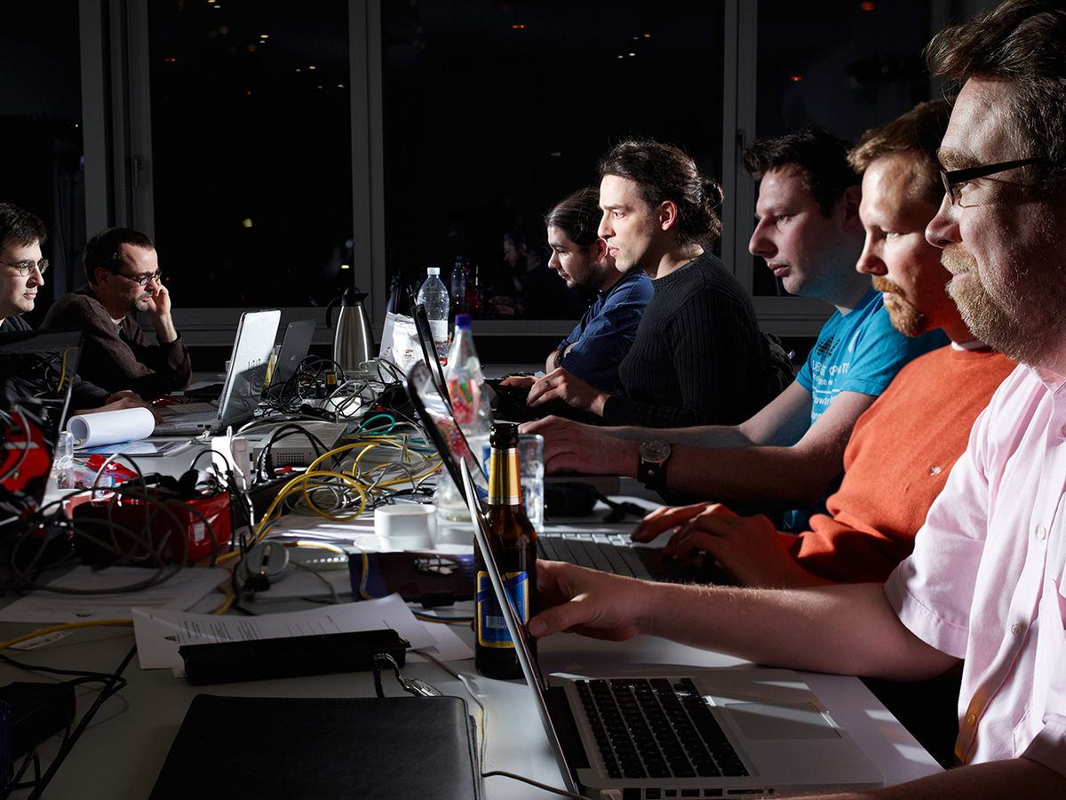 Software developers gathered recently in Düsseldorf, Germany, to code and collaborate on Haiku
