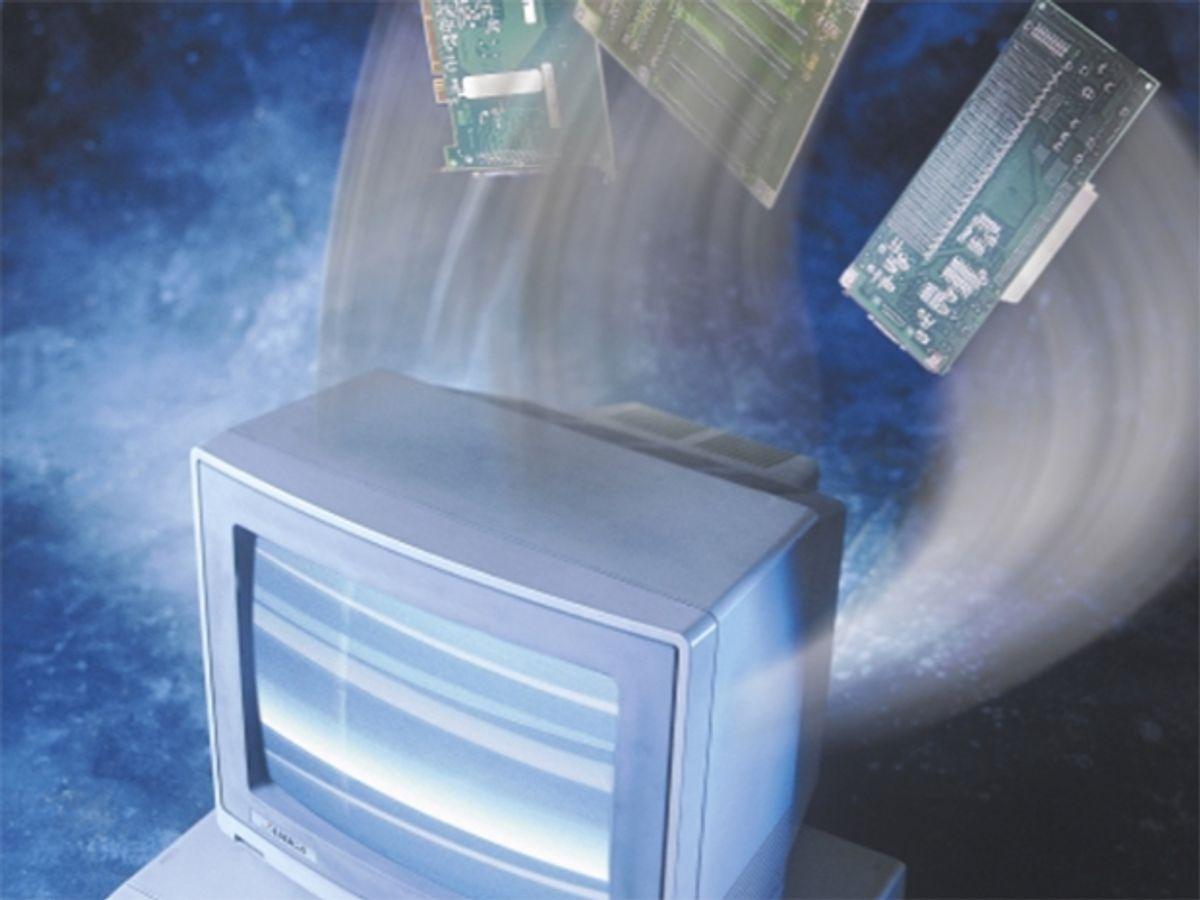 photo of the Amiga computer