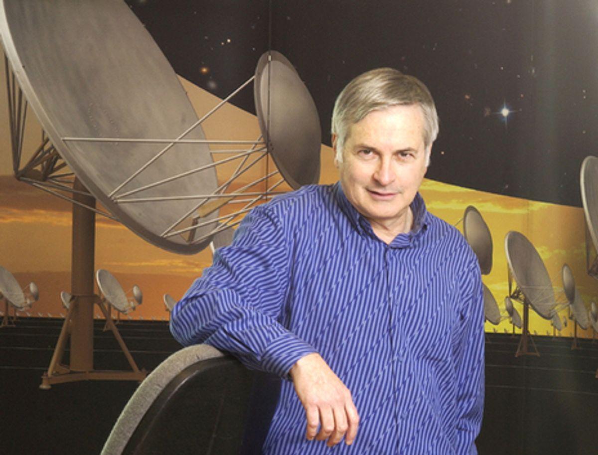 Photo of Seth Shostak, senior astronomer with the SETI Institute.