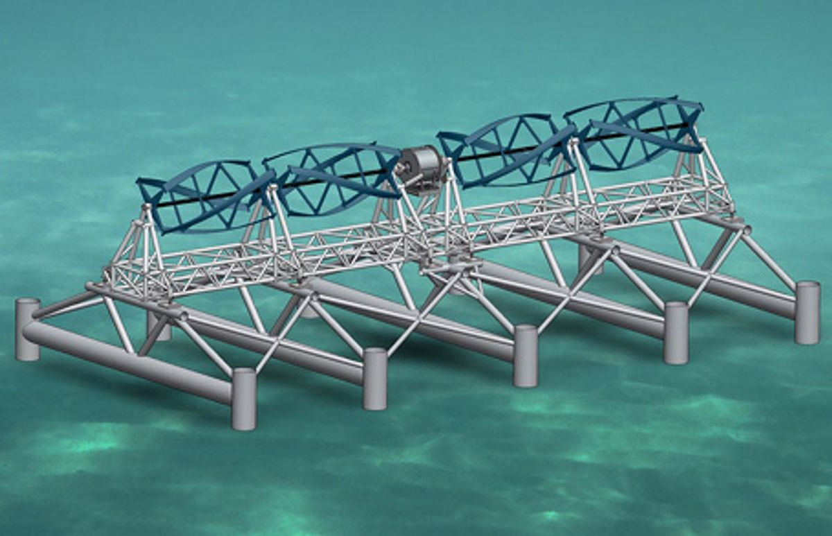 First Tidal Power in U.S. Starts Flowing to the Grid