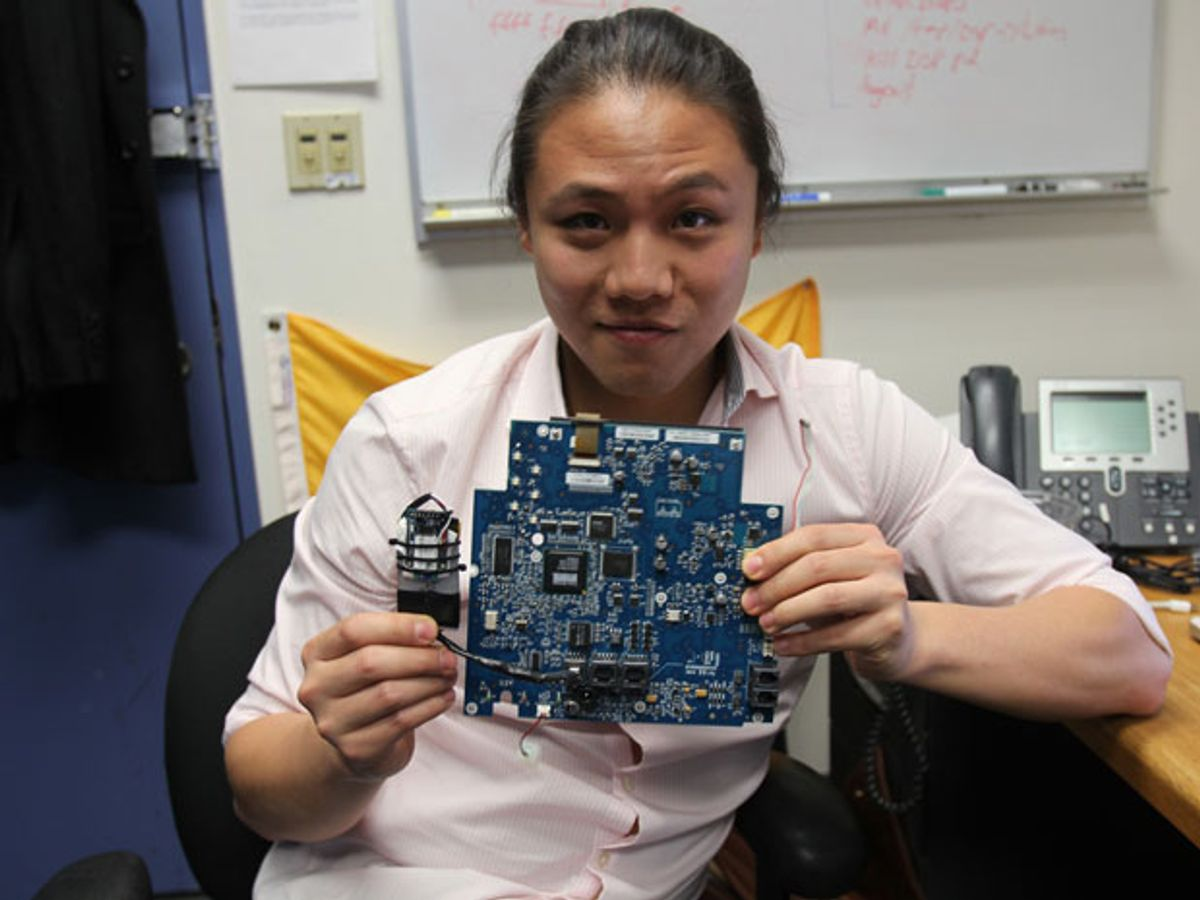 Columbia computer scientist Ang Cui