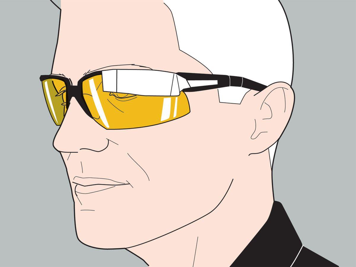 google glass illustration