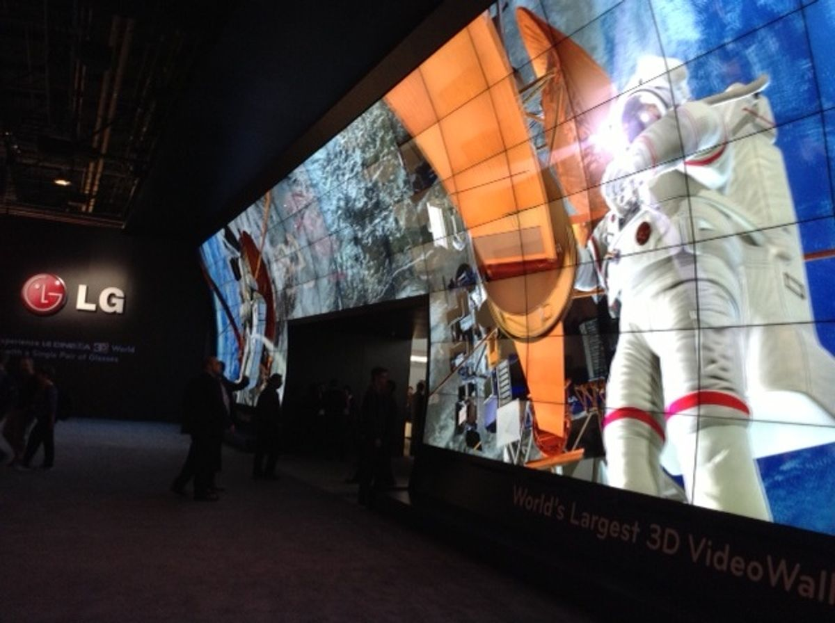 CES 2013: A Tale of Two Television Strategies