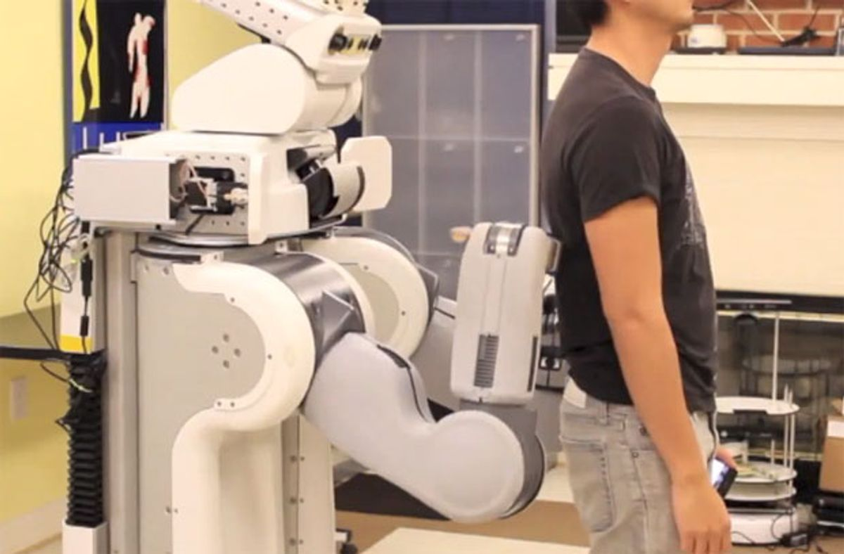 Video Friday: Back Rubs, Scrum Simulators, and Robot Theater