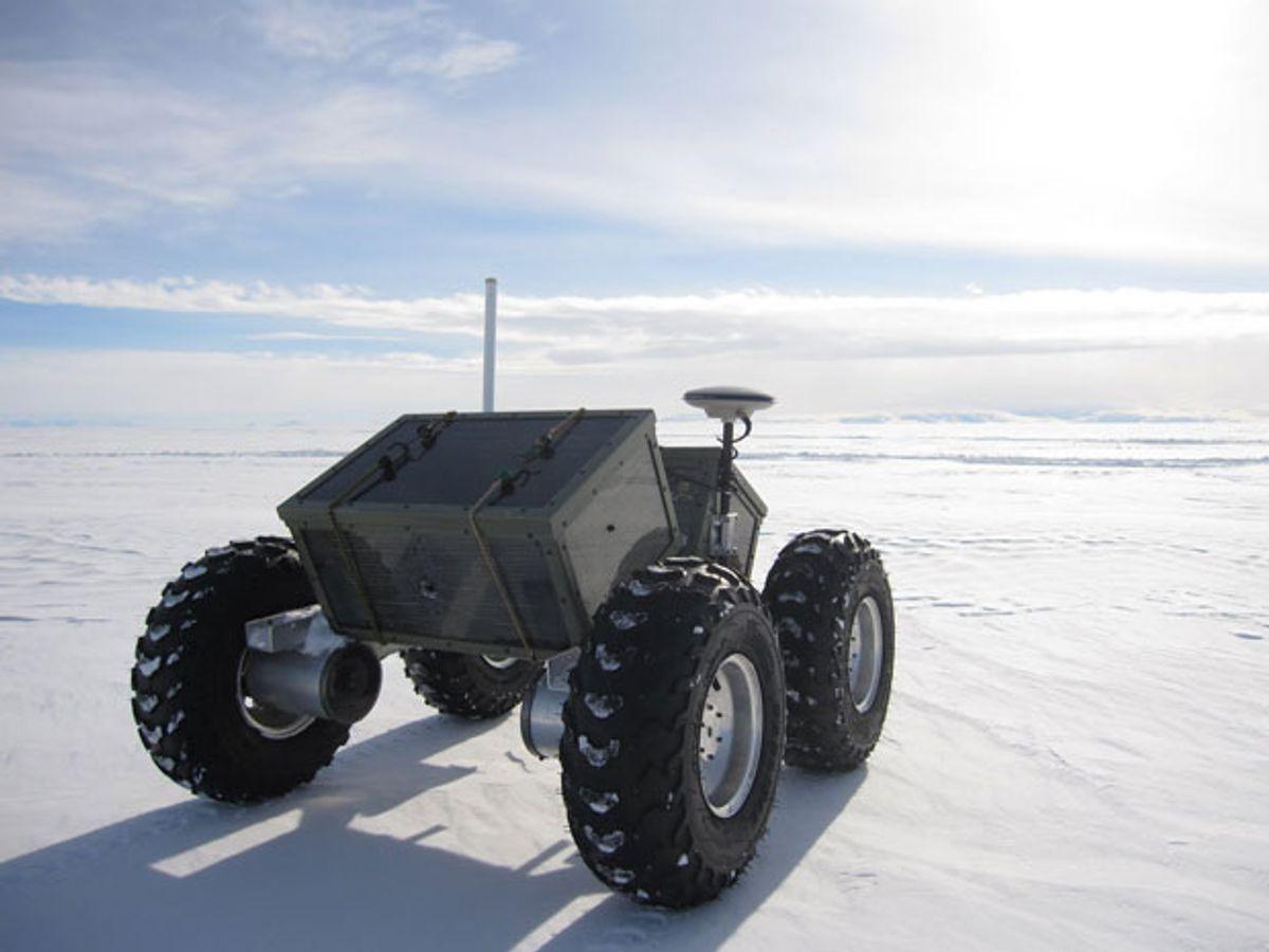 Robot Yeti Tells You Where Not to Go in Antarctica
