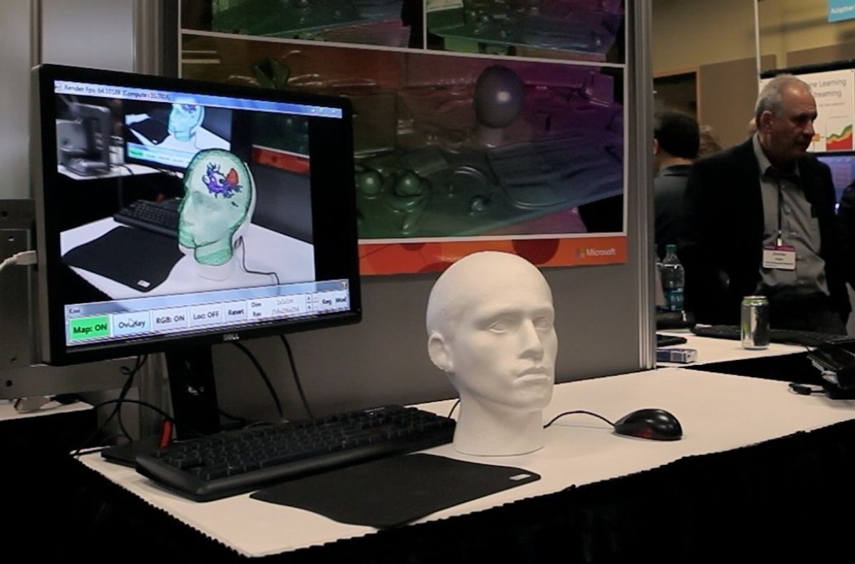 Kinect + Brain Scan = Augmented Reality for Neurosurgeons