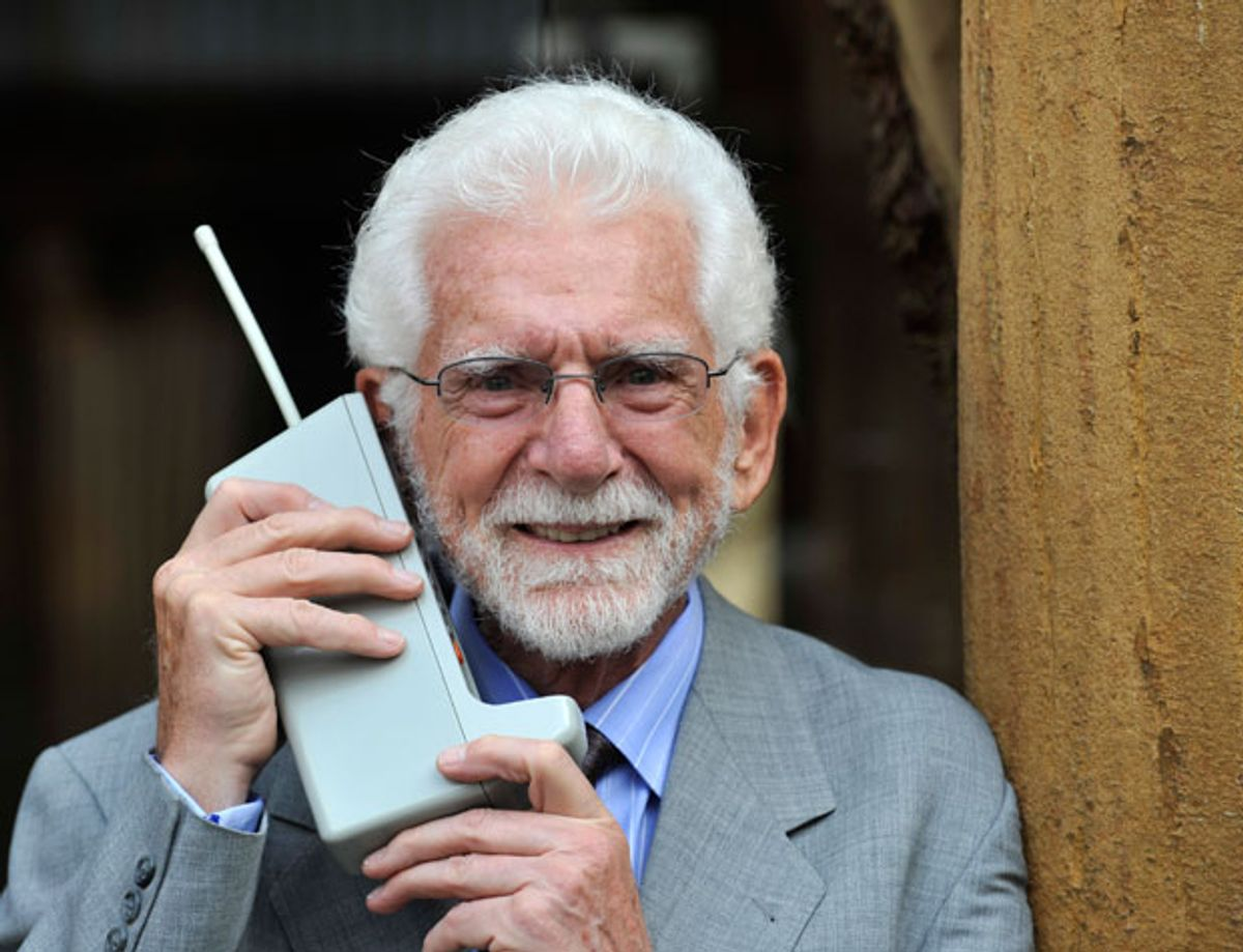 First Portable Telephone Call Made 40 years Ago Today